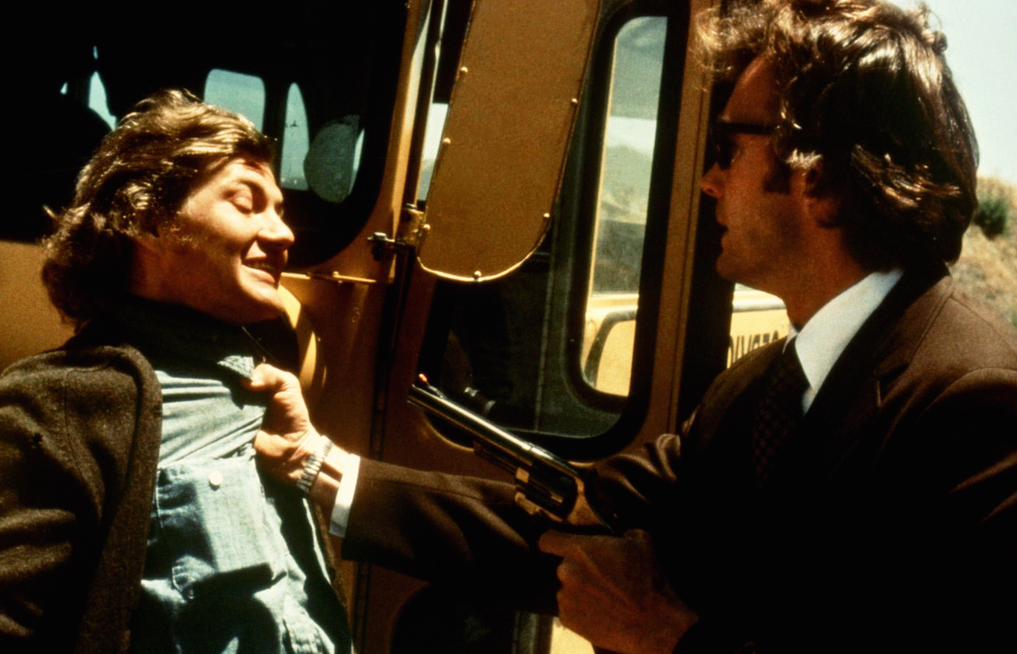 Screenshot from Dirty Harry (1971).